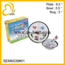 5PC Melamin Kinder Set
