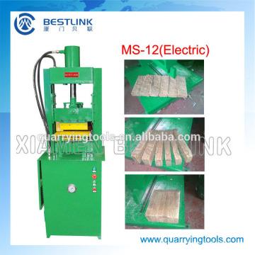 Máquina de corte eléctrica de la piedra del sistema hydráulico conducido