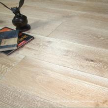 Wire Brushed White Washed Oak 3 Layers Engineered Wood Flooring