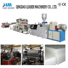 Línea de extrusión de tablero de espuma de PVC / Maquinaria de extrusión de hoja de publicidad de PVC