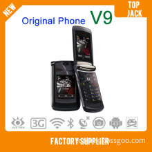 Cheap Flip Cell Phone V9 Original Brand Phone Smart Mobile Phone Cellular