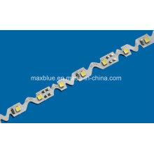 60LEDs / M DC12V SMD2835 Tira de LED pequena e dobrável