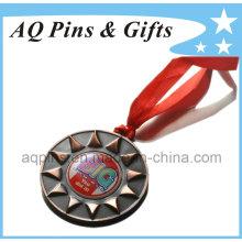 Custom 3D Medal in Antique Gold