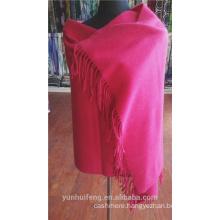 Chinese warn cashmere fabric poncho