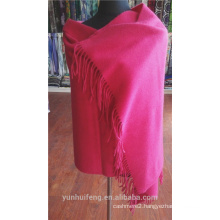 Chinese warn cashmere fabric poncho