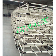 Plastic Coated Pipe Rack