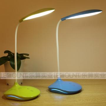 Mini lámpara de lectura con luz ambiente opcional en la base de la lámpara (L50N)