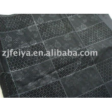 africa embossed-flocking garment fabric