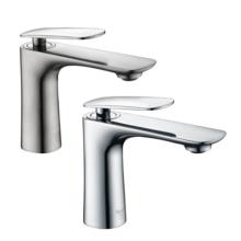 Single handle faucet for bathroom basin
