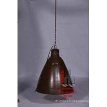 Brown Hanging Large Lamp