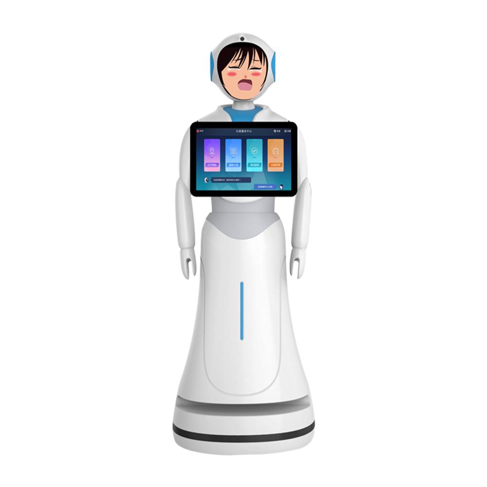 Daisy greeting robot