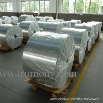 Diferentes colores Hoja de aluminio recubierto hidrófilo recubierto con aleación 1100/1200/3102