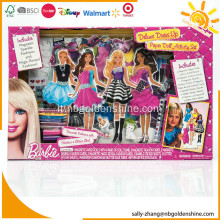 Barbie Deluxe Dress Up Set di attività di bambola di carta