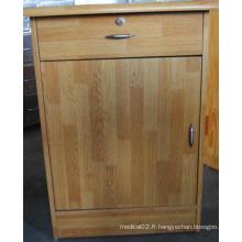 (C-94) Cabinet de chevet en bois médical de haute qualité