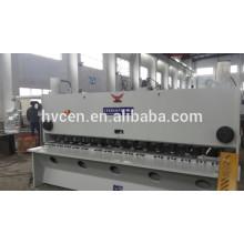 Machine de cisaillement de guillotine qc11y 8 * 2500, machine de cisaillement d'acier