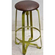 Tabuleiro de barra giratória industrial retro Disstress Green Old Color
