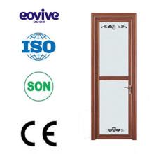 Precio competitivo alta calidad inodoro de aluminio puertas diseño