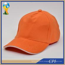 Good Quality Custom 6 Panel Blank Baseball Caps Without Logo