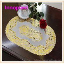 PVC Gold/Silver Lace Placemat