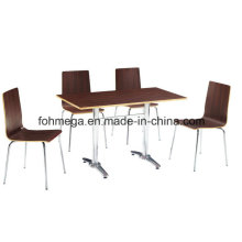 Wholesale Plywood Cafe Furniture (FOH-BC25)
