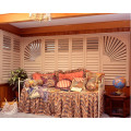89mm 114mm Real Basswood Shutters Quality Shutters (SGD-S-5956)