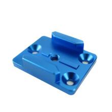 Customized Anodized Blue Color High Precision Metal cnc Machining Turning Aluminum AL6061 Parts For Studio Equipment