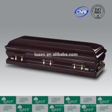 LUXES América estilo quente venda caixão senador para custos de Funeral