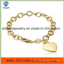 Pulsera de cadena caliente de acero inoxidable puede ser con su logotipo (bl2839)