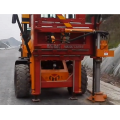 Screw Highway Guardrail penggerudian all-in-one machine