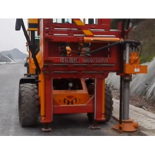 Screw Highway Guardrail drilling all-in-one machine
