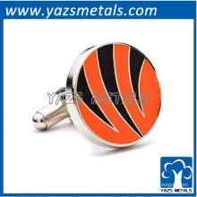 personalizar punhos de metal cufflinks cincinnati esporte