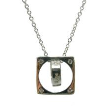 Ожерелье ювелирных изделий способа ожерелья способа горячего сбывания 925 серебряное (N6812)