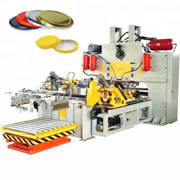 Автоматическая машина для производства крышек / крышек из стеклянных бутылок