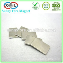 block nickel coated holding magnet