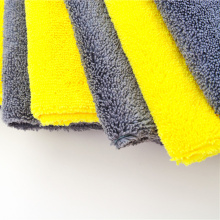 Super Absorbent Warp Knitting Microfiber Washcloth Cloth