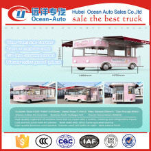 2016 NEWEST Commercial Street Stainless Steel Electric Ice cream Shop Van for Sale