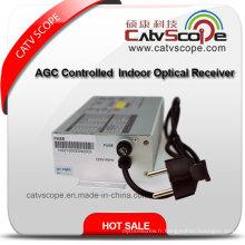Sortie 2 voies Smart AGC Controled CATV FTTH Indoor Optical Receiver