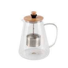 Teatime Glass Tea Pot Adjustable High Infuser