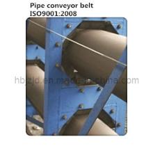 Fabric Cord Carcass Tubular Conveyor Belt