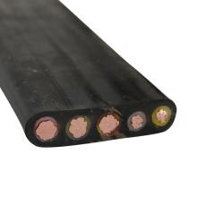 Câble d'alimentation de grue à tour électrique plat Flex