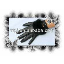Nuevos guantes de cuero atractivos del tacto del estilo para iphone5