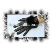 New style sexy touch leather gloves for iphone5
