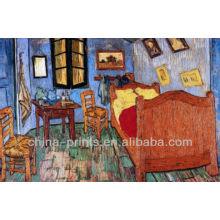 Pintura Del Dormitorio De Van Gogh Por La Pintura Al óleo Hecha A Mano De La Lona De La Pintura Del Giclee