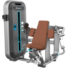 Máquina sentada de la fuerza del enrollamiento del bíceps