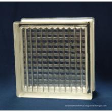 melhores dimensões do tijolo de vidro do preço para decorativo