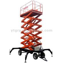 1ton plataforma de elevación eléctrica para el mantenimiento