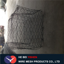 strong pvc coated galvanized stone gabion mesh
