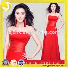 Frauen Kleider Design der Mode Red Ear Quaste Fransen