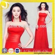 Women Dresses Design of Fashion Red Ear Tassel Fringe