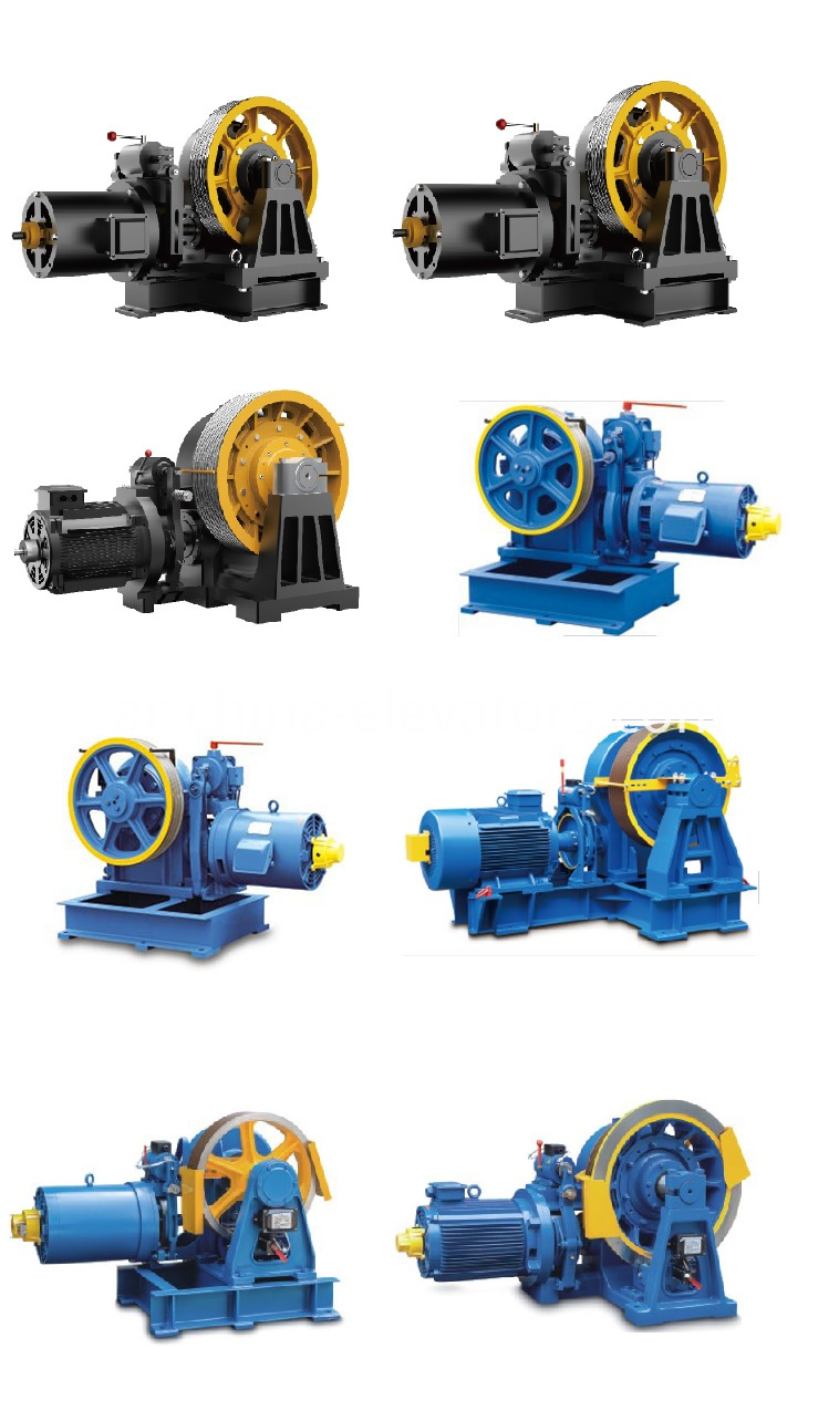 Elevator Machine Modernization with VVVF Geared Motor